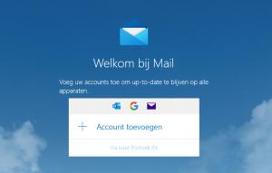 Windows email problemen